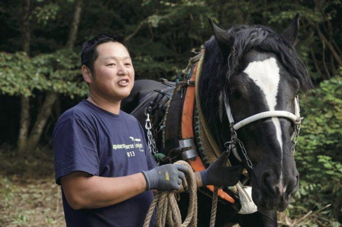 馬搬の文化と技術を、若い世代へ。【遠野馬搬振典会 岩間敬】