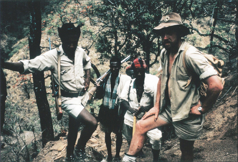 C.W.ニコルさんがエチオピアのレンジャーの隊長として活躍したころの写真