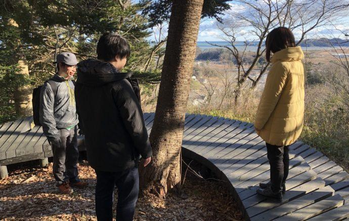 東松島「復興の森」を訪ねて