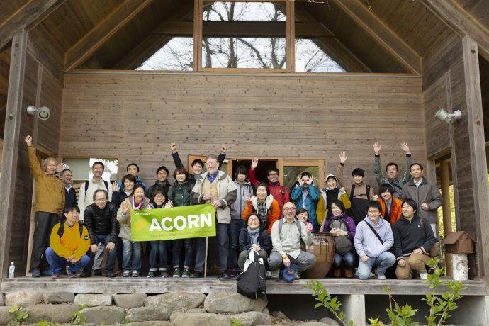 長野の黒姫に広がる「アファンの森」にて、「体験型1Day研修」を実施。全国各部門の社員が参加しました。