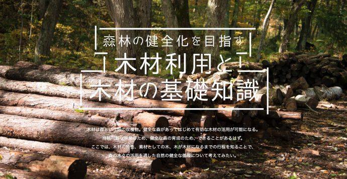 木材が家具になるまでが、とてもよくわかる「木材の基礎知識」を公開しました。