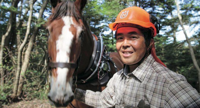 馬の力で森をつくり、守っていく。【美馬森 Japan 八丸健】